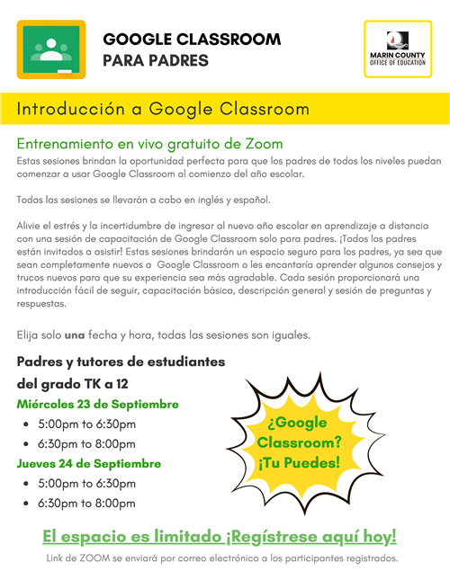 Introduction to Google Classroom S