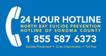 24-Hour Hotline North Bay Suicide Prevention Hotline of Sonoma County